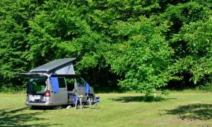 Camping bei Hamburg