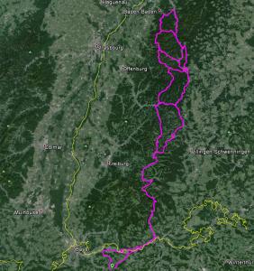 Route nach Alpirsbach und Ausflüge