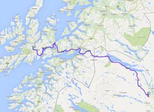 Kiruna bis Gullesfjord