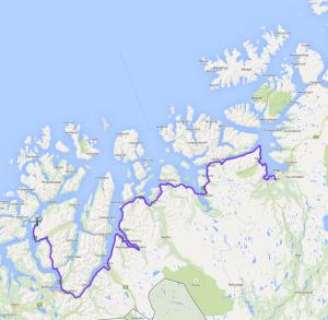 Tromsø bis Alta