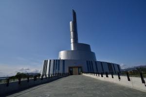 Nordlichtkirche von aussen