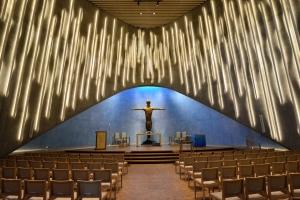 Nordlichtkirche innen