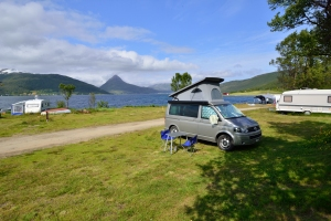 Egonmobil, Fjordbotn Camping