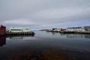 Vardö, Hafen mit Hurtigruten Anlegestelle