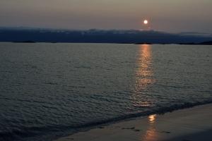 Sonne um 11 Uhr nachts (Sonnenuntergänge gibt es ja keine...)