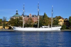 Hafen von Stockholm