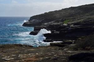 Küste bei Blowhole