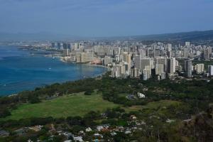 Honolulu von oben