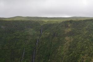 Wasserfälle aus der Hochebene