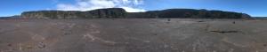 Im Krater, 360o Panorama