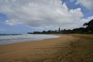 """Lumahai beach park nach """"Regen"""""""