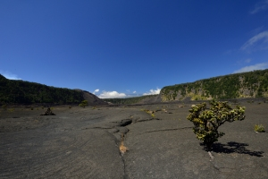 Blick durch den Krater